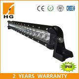 Le ce a reconnu 40 '' la barre bon marché simple d'éclairage LED de la rangée 108W de CREE pour le camion