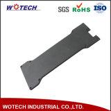 Al 6061 die Zwarte Geanodiseerde Precisie CNC Deel met Gezandstraald machinaal bewerken
