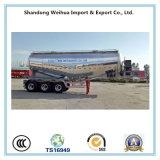 Remorque 60cbm de camion-citerne aspirateur de la colle en vrac d'alliage d'aluminium de 3 essieux de Fuwa