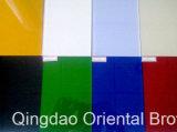 Vidro pintado preto com Ral9005