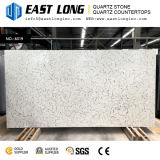 Pierre de marbre artificielle de quartz de veine pour le modèle de cuisine
