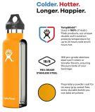 Бутылка воды склянки таможни 18oz 21oz 24oz качества OEM фабрики оптовая верхняя гидро