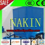 Purificador de petróleo elevado de Ce/ISO Precesion, sistema móvel da filtragem do petróleo do transformador