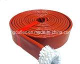 Funda a prueba de calor da alta temperatura diseñada especial del fuego de la fibra de vidrio