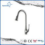Quente-Vendendo o misturador de bronze da água do Faucet do dissipador de cozinha do Upc do projeto moderno