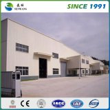Disposition d'entrepôt de structure métallique