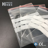 Ht-0542 Hiprove Brand Grip Seal Bag Bag com barra branca