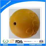 Rubber Ball Toy Yellow Dog Pet Formation Mordre