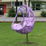 Garten-hängende Ei-Stuhl-im Freienrattan-Schwingen-Weidenschwingen-Möbel (D014A)