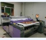안료 잉크 면 인쇄를 가진 Fd1628 벨트 인쇄 기계 직물 인쇄 기계