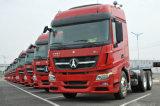 Prix du nord de camion d'entraîneur du benz Ng80 V3 420HP de Beiben