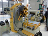 مغذّ آليّة مع مقوّم انسياب إستعمال في صحافة آلة أن يجعل ألومنيوم يقوّي