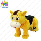 Заполненная плюшем езда игрушки лошади Zippy батареи гуляя электрическая животная