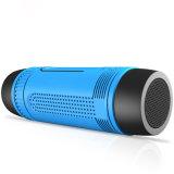 L'orateur sans fil imperméable à l'eau Powerbank de Bluetooth a sorti la lampe-torche de 3 modes mains libres pour Smartphone (TF-0906)