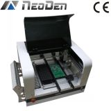 La máquina Neoden4 de la selección y del lugar con la boquilla 4 equipa las cámaras y el alimentador de la vibración, iluminación del LED