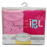 100% algodón ropa de bebé 175GSM tejido de bloqueo
