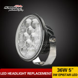 5inch Hi/Low Beam Sealed Headlight DEL Driving Light (SM6054R-36W)
