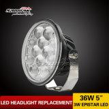 luz de conducción sellada viga de la linterna LED de 5inch Hi/Low (SM6054R-36W)