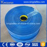 Mangueira da água dos acoplamentos do PVC Layflat para a indústria da agricultura