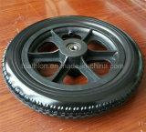 6X2 6X1 6X1.5 휠체어 포크를 가진 단단한 고무 폴리우레탄 거품 타이어 타이어 & 바퀴