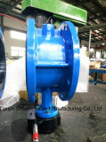 Eisen-Platten-Flansch-Drosselventil des Form-Stahl-(WCB) duktiles