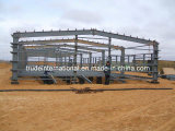 Casa prefabricada de la estructura de acero/edificios prefabricados usados como almacén/taller