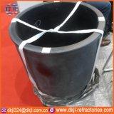 Creusets à haute densité de graphite de température élevée pour la fonte de cuivre