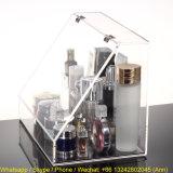 Scatola di presentazione acrilica dei cassetti di trucco cosmetico dell'organizzatore