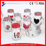 Großhandelsmaurer-Glas des glas-16oz mit Metallkappe