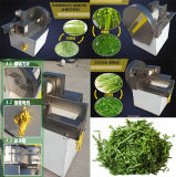 Chd-80 Bonne apéritif, poireaux, épinards, vert, onces, légumes, découpage, machine