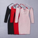 Manier van de Koker van de Riem van Speghetti de Halve Dame Dress Bandage