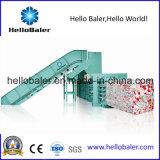 Prensa hidráulica semiautomática del papel usado