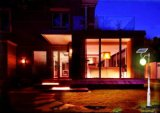 Luz de rua solar do diodo emissor de luz da rua do painel do monocristal