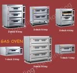 Forno di gas professionale del pane di cottura della strumentazione di approvvigionamento da vendere