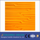 Выбивая звукоизоляционная плита волокна полиэфира для ядрового Proofing