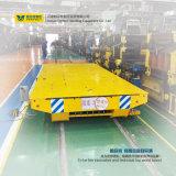 Carro de la transferencia del acoplado del vehículo de transporte de carril del almacén de la Cruz-Bahía