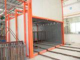 Cadena de producción automática del pintado con pistola para los productos de metal