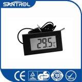 Pequeño termómetro de la temperatura de Digitaces del panel