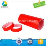 Trazador de líneas rojo equivalente a la cinta adhesiva del poliester de Tesa 4967 (BY6967R/150mic*1240*100m)