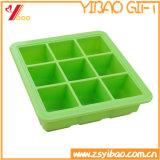 LFGB 9 Zellen-Silikon-Eis-Würfel-Tellersegment-/Ice-Form