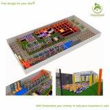 Terrein van de Vloer van de Trampoline van de Sporten van de fabriek het In het groot Grote Bedrijven Binnen Concurrerende Volwassen