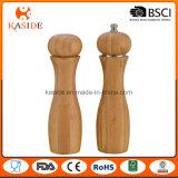 Tipo agitatore di sale di bambù del laminatoio e di pepe del meccanismo di ceramica