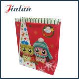 Mit Belüftung-Fenster-Weihnachtseinkaufen-Verpackungs-Geschenk-Papierbeutel anpassen