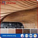 Водоустойчивая пожаробезопасная антацидная деревянная плитка для украшения пола и стены