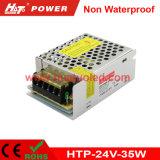 alimentazione elettrica di 24V1.5A LED/lampada/banda a tubo/flessibile non impermeabile