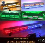 2-Layers LED ambrato mini Lightbar per i veicoli Emergency (TBG-509L-4B4C4)