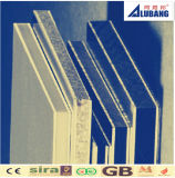 panneau composé en aluminium argenté Shinning d'enduit de 4mm 0.5mm PVDF