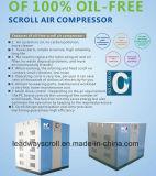 Compresor de aire sin aceite para el desfile del hospital de rosca