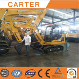 CT85-8b (37m3 u. 8.5t) Hydraulic Backhoe Crawler Excavator