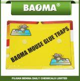 Tarjeta de papel del desvío del pegamento de la rata de Baoma